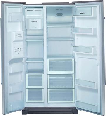 Холодильник с морозильником Siemens KA58NA75RU - внутренний вид
