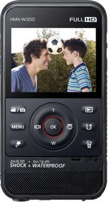 Видеокамера Samsung HMX-W350 Black - общий вид