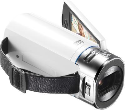 Видеокамера Samsung HMX-QF30 White - общий вид