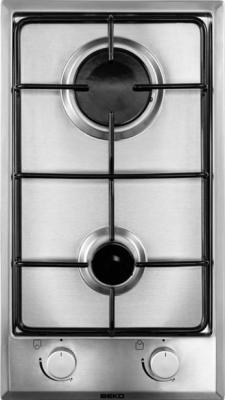 Газовая варочная панель Beko HDCG 32220 FX - общий вид