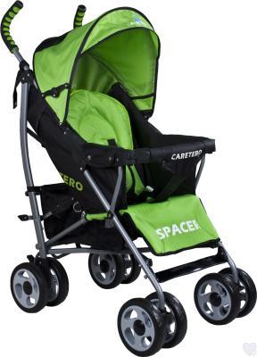 Детская прогулочная коляска Caretero Spacer (Green) - общий вид