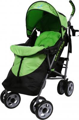 Детская прогулочная коляска Caretero Spacer (Green) - чехол для ног