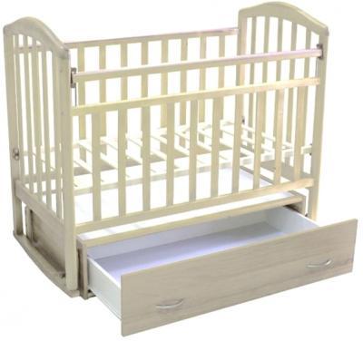 Детская кроватка Антел Алита-4 (слоновая кость) - общий вид