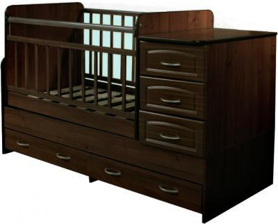 Детская кровать-трансформер Антел Ульяна-У (Венге) - общий вид