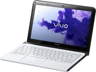 Ноутбук Sony VAIO SV-E1113M1R/W - общий вид