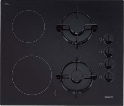 Комбинированная варочная панель Beko HISM 64120 S - общий вид