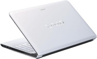 Ноутбук Sony VAIO SV-E1513L1R/W - вид сзади