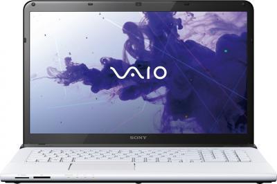 Ноутбук Sony VAIO SV-E1513P1R/W - фронтальный вид
