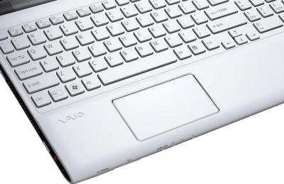 Ноутбук Sony VAIO SV-E1513P1R/W - тачпад