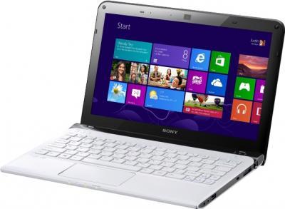 Ноутбук Sony VAIO SV-E1513T1R/W - общий вид