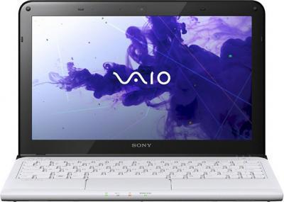 Ноутбук Sony VAIO SV-E1713S1R/W - фронтлдьный вид