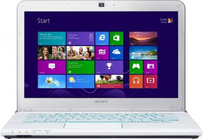 Ноутбук Sony VAIO SV-E14A3M1R/W - фронтальный вид