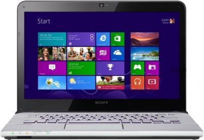 Ноутбук Sony VAIO SV-E14A3M2R/S - фронтальный вид