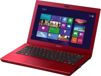 Ноутбук Sony VAIO SV-S1313M1R/R - общий вид