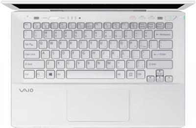 Ноутбук Sony VAIO SV-S1313M1R/W - вид сверху