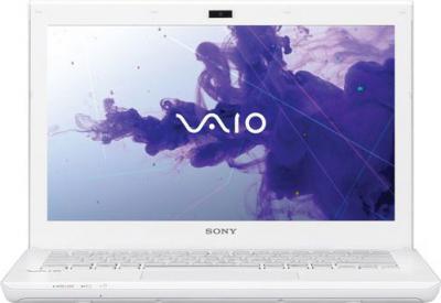 Ноутбук Sony VAIO SV-S1313M1R/W - фронтальный вид