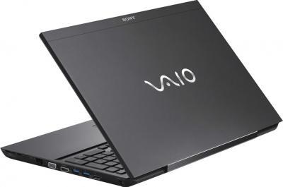 Ноутбук Sony VAIO SV-S1313X9R/B - вид сзади