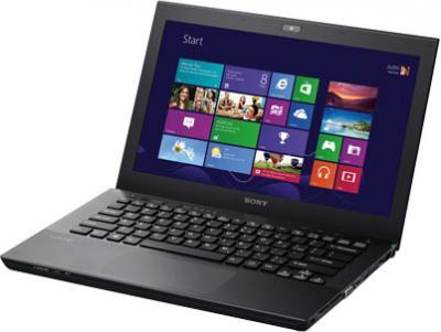 Ноутбук Sony VAIO SV-S1313V9R/B - общий вид