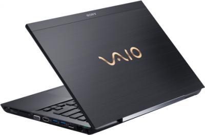 Ноутбук Sony VAIO SV-S13A3X9R/S - вид сзади