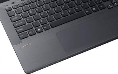 Ноутбук Sony VAIO SV-S13A3X9R/S - тачпад