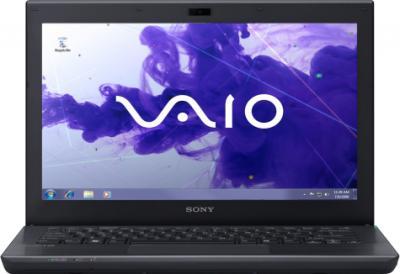 Ноутбук Sony VAIO SV-S13A3V9R/S - фронтальный вид