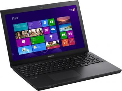 Ноутбук Sony VAIO SV-S1513M1R/B - общий вид