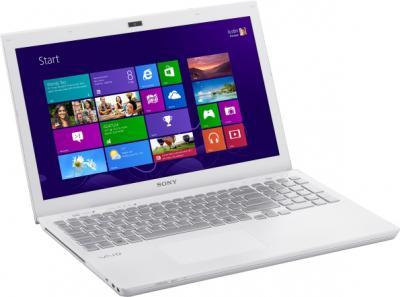 Ноутбук Sony VAIO SV-S1513M1R/W - общий вид
