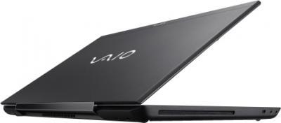 Ноутбук Sony VAIO SV-S1513V9R/B - вид сзади