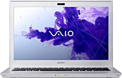 Ноутбук Sony VAIO SV-T1113L1R/S - фронтальный вид