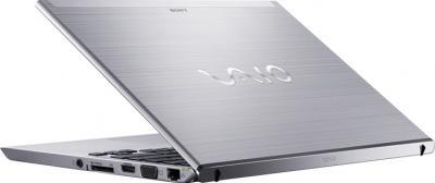 Ноутбук Sony VAIO SV-T1313M1R/S - вид сзади