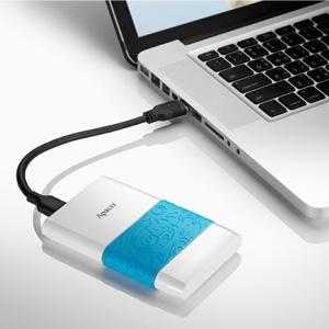 Внешний жесткий диск Apacer AC232 500Gb White (AP500GAC232W-S) - подключение