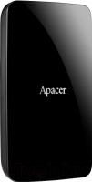 Внешний жесткий диск Apacer AC233 1Tb Black (AP1TBAC233B-S) -