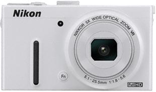 Компактный фотоаппарат Nikon Coolpix P330 White - общий вид