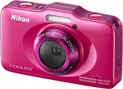 Компактный фотоаппарат Nikon Coolpix S31 Pink - общий вид