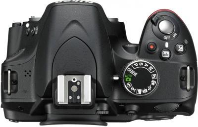 Зеркальный фотоаппарат Nikon D3200 Kit 18-200mm VR II - вид сверху