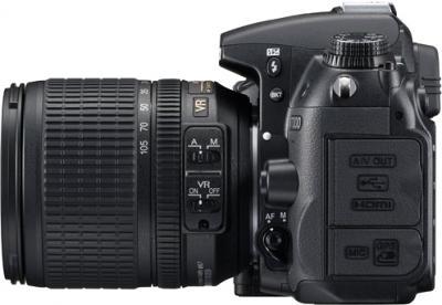 Зеркальный фотоаппарат Nikon D7000 Kit 18-55mm VR - вид слева