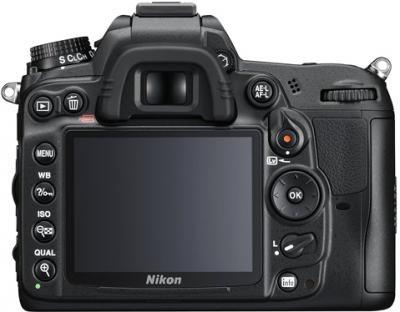 Зеркальный фотоаппарат Nikon D7000 Kit 18-55mm VR - вид сзади