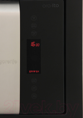 Микроволновая печь Gorenje BM6250ORAX - панель