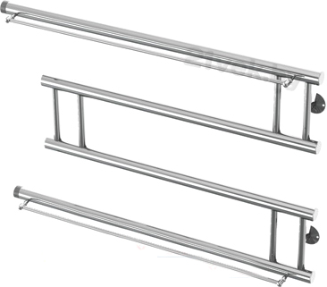 "Полотенцесушитель водяной Gloss & Reiter Модерн М3 50х80 (1"") - общий вид"