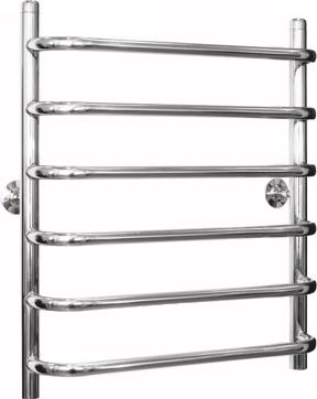 """Полотенцесушитель водяной Gloss Reiter Лесенка 50х60.С6 (1"""") (с нижним подключением) - общий вид"""