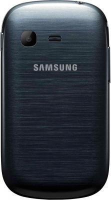 Мобильный телефон Samsung S3802 Rex 70 Duos Metalic Blue (GT-S3802 MBWSER) - задняя панель