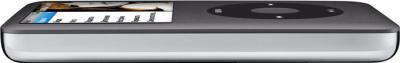 MP3-плеер Apple iPod classic 160Gb MC297QB/A (черный) - вид сбоку