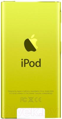 MP3-плеер Apple iPod nano 16Gb MD476QB/A (желтый)