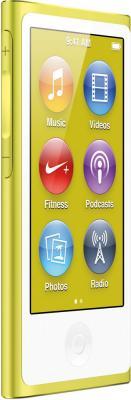 MP3-плеер Apple iPod nano 16Gb MD476QB/A (желтый) - вид сбоку