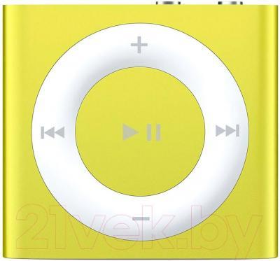 MP3-плеер Apple iPod shuffle 2Gb MD774RP/A (желтый)