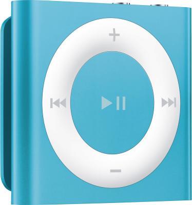 MP3-плеер Apple iPod shuffle 2Gb MD775RP/A (синий) - общий вид