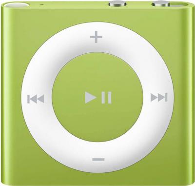 MP3-плеер Apple iPod shuffle 2Gb MD776RP/A (зеленый) - общий вид