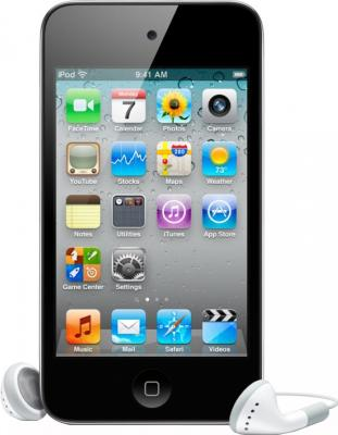 MP3-плеер Apple iPod touch 64Gb MD724RP/A (черно-серебристый) - вид спереди
