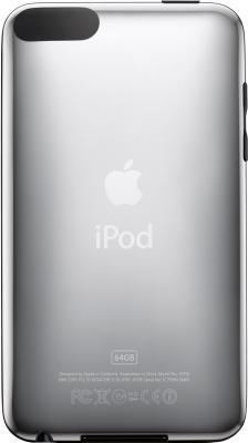 MP3-плеер Apple iPod touch 64Gb MD724RP/A (черно-серебристый) - вид сзади