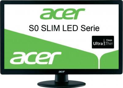 Монитор Acer S240HLBD (ET.FS0HE.001) - фронтальный вид